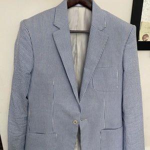 Other - Seersucker suit blazer pants 38R